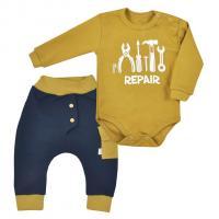 Body a tepláky Koala Repair , Velikost - 62 , Barva - Žltá