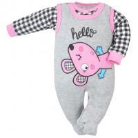 Kabátek a dupačky Koala Roar , Barva - Ružová , Velikost - 56