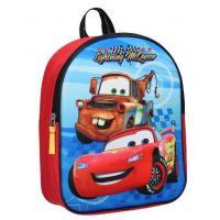 Batoh Cars Disney , Barva - Červeno-modrá