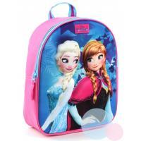 Batoh Frozen 3D , Barva - Modro-růžová
