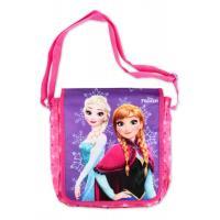 Taška přes rameno Frozen Disney , Barva - Tmavo ružová
