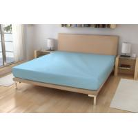 Jersey prestieradlo EXKLUSIVE , Rozměr textilu - 90x200 , Barva - Světlo modrá