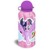 Fľaša My Little Pony Rainbow Dash alu , Velikost lahve - 0,5 L , Barva - Svetlo ružová