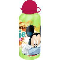 ALU Fľaša na pitie Mickey Selfie , Barva - Zelená , Velikost lahve - 0,5 L