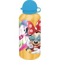 ALU Fľaša na pitie Minnie Zmrzlina , Barva - Žltá , Velikost lahve - 0,5 L