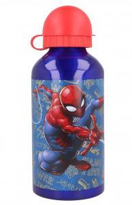 LAHEV SPIDERMAN alu , Velikost lahve - 0,5 L , Barva - Modro-červená