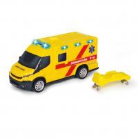 Ambulance Iveco 18 cm , Barva - Žltá