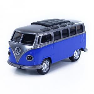 Auto/autobus se zvukem a světlem , Barva - Modrá