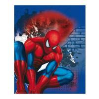 Auto deka Spiderman , Barva - Modrá , Rozměr textilu - 120x150