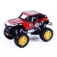 Auto Jeep terénní v krabici , Barva - Červená