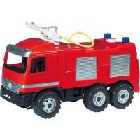 Auto Mercedes požární 64cm , Barva - Červená