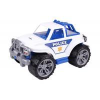 Auto plastové SUV polície , Barva - Biela