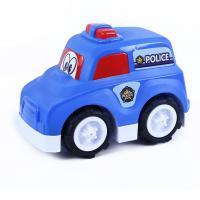 Auto polícia veselé v krabici , Barva - Modrá