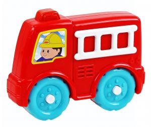 Auto požiarne so zvukom baby , Barva - Červená