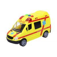Auto sanitka 14.5 cm , Barva - Žltá