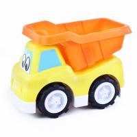 Auto sklápacie veselé v krabici , Barva - Žltá