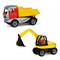 Auto Truckies set stavba , Barva - Žltá