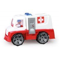 Auto TRUXX sanitka , Barva - Bielo-červená