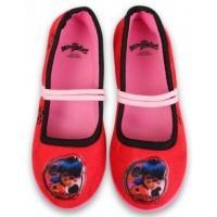Papuče Čarovná Lienka , Velikost boty - 27 , Barva - Červená