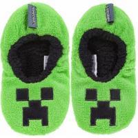 BAČKORY MINECRAFT , Velikost boty - 35-36 , Barva - Zelená