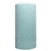 Bambusová pletená deka NEW BABY , Barva - Zelená , Rozměr textilu - 80x100
