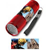 Baterka Čarovná Lienka Paríž LED , Barva - Červená