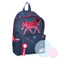 BATOH Kôň s flitrami , Barva - Modrá