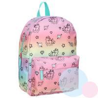 BATOH  MILKY KISS  unicorn , Barva - Ružová