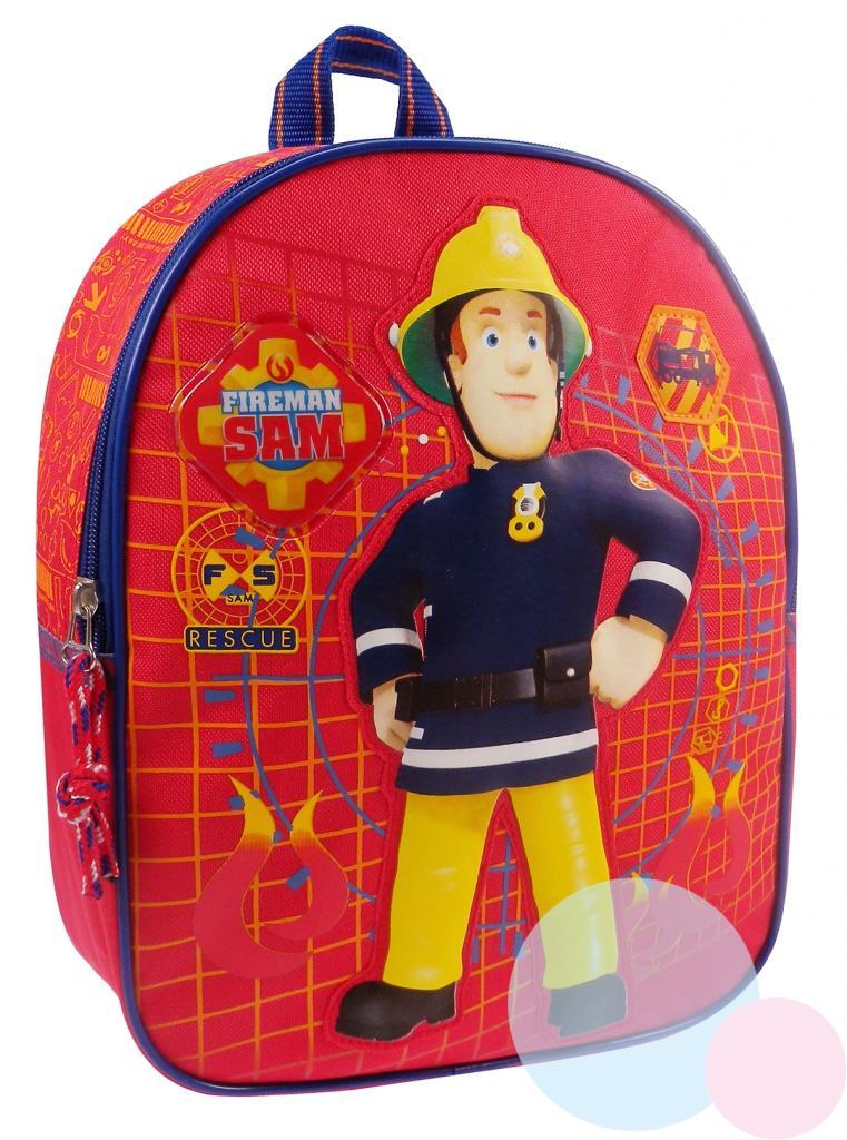38c4bc3da4c28 detský batoh Požiarnik Sam , Barva - Červená | Nákupy Deťom SK
