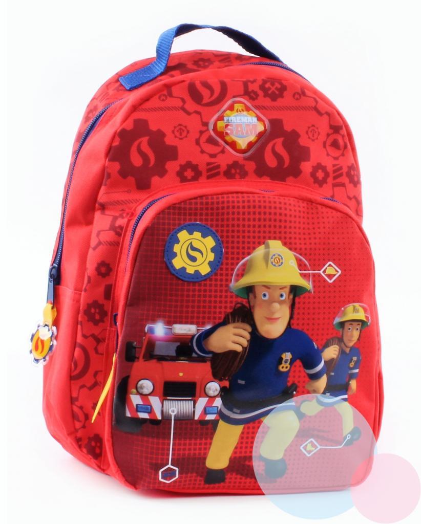 9e39946ece561 detský batoh hasič sam , Barva - Červená | Nákupy Deťom SK