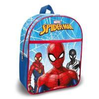 Batoh s kapsou Spiderman , Barva - Modrá