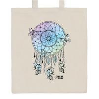 Nákupní taška přírodní Lapač snů , Barva - Béžová