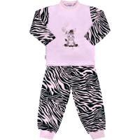 Bavlnené pyžamo New Baby Zebra , Barva - Ružová , Velikost - 74