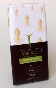 Biela čokoláda Balance , Velikost balení - 100g