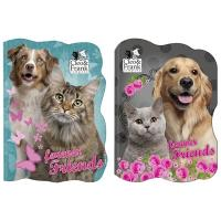 BLOK A6 Pes a mačka , Barva - Barevná