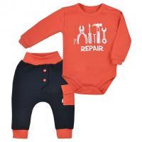 Body a tepláky Koala Repair , Velikost - 62 , Barva - Oranžová