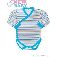 Body celorozopínacie New Baby Puppik , Barva - Tyrkysová , Velikost - 56