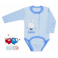 Body celorozpínací Rabbit Magnet , Barva - Modrá , Velikost - 62