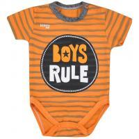 Body Koala Boys Rule , Barva - Oranžová , Velikost - 62