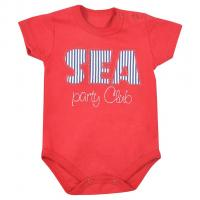 Body Koala Sea Party , Velikost - 62 , Barva - Červená