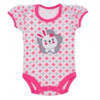 Body Koala Summertime rabbit , Velikost - 62 , Barva - Ružová