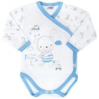 Body New Baby Bears celorozepínací , Barva - Modrá , Velikost - 68