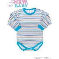 Body New Baby Puppik , Barva - Tyrkysová , Velikost - 74