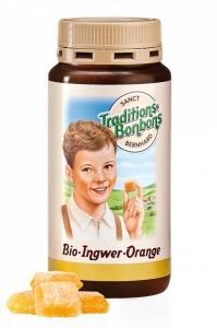Bonbóny zázvorovo-pomarančové BIO , Velikost balení - 170g