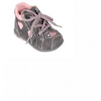 Topánky detské , Barva - Šedá , Velikost boty - 26