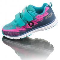 Boty sportovní Bugga , Velikost boty - 33 , Barva - Modro-růžová