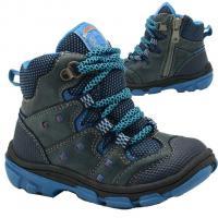 Boty zimní Bugga , Velikost boty - 22 , Barva - Modrá