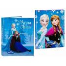 Box na zošity a zakladač Frozen , Barva - Modrá