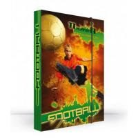 Box na sešity Fotbal A4 , Barva - Zelená
