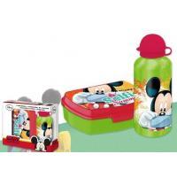 Box na desiatu a flaša Mickey , Barva - Zelená